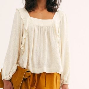 NWT Free People Bonnie Blouse